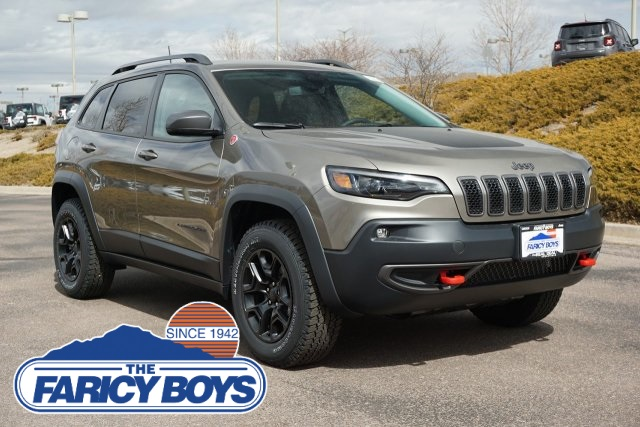 New 2019 JEEP Cherokee Trailhawk Sport Utility in Colorado Springs