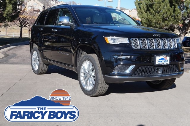 new 2018 jeep grand cherokee summit sport utility in colorado springs jc245588 the faricy boys. Black Bedroom Furniture Sets. Home Design Ideas