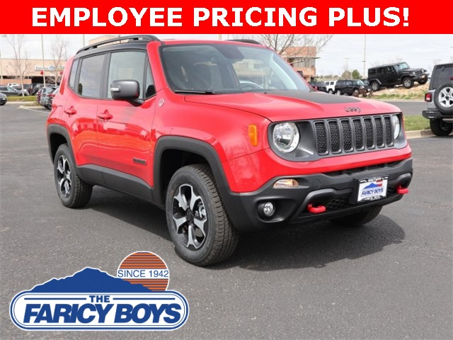 NEW 2019 JEEP RENEGADE TRAILHAWK® 4X4
